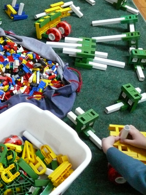 Blocks Play at GCS